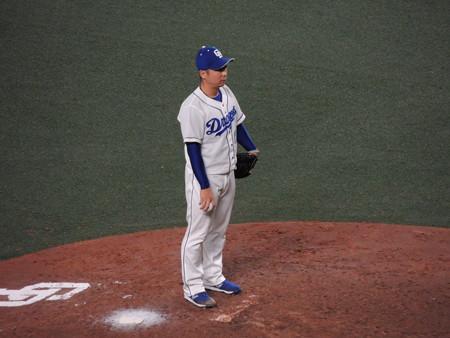 谷元圭介投手。