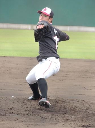 大井友登投手。