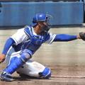 Photos: 石橋康太捕手。