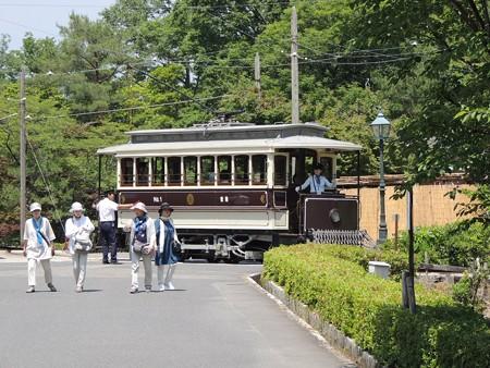 京都市電。
