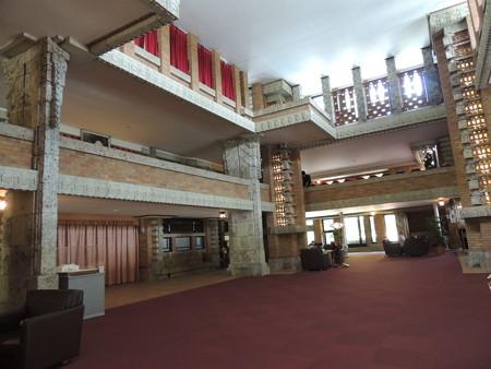 帝国ホテル中央玄関。