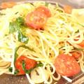 Photos: P8231095:トマトとルッコラのスパ