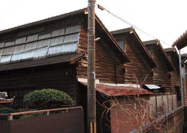 のこぎり屋根