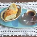 Photos: 手作りパンの朝食・・・