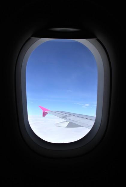 機窓 関空~仙台