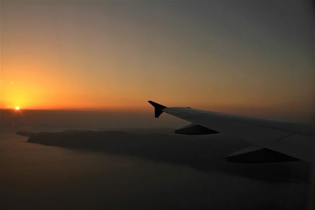 機窓 仙台~関空