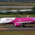 Photos: Peach Airbus A320-214