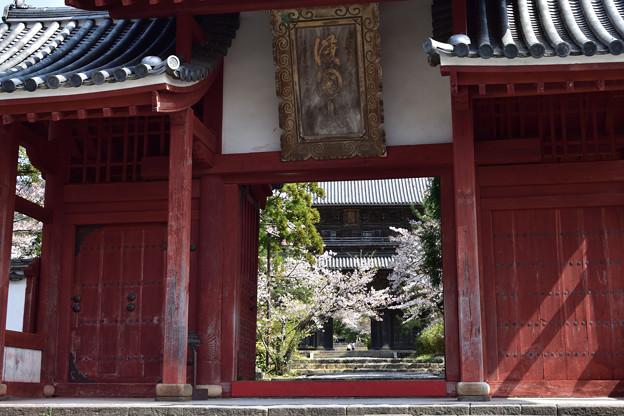 東光寺総門 2