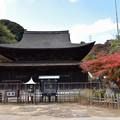 Photos: 仏殿と紅葉