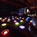 Photos: 本堂の灯り