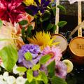 Photos: 花手水 上から見るか_2