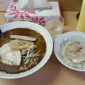 らーめん爐(イロリ)「塩ら~めん&ミニチャーシュー丼」750円&200円