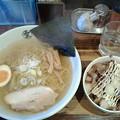 らーめん空「塩らーめん& テリマヨチャーシュー丼」800 円&300円