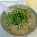 王将ラーメン「白湯野菜ラーメン」770円
