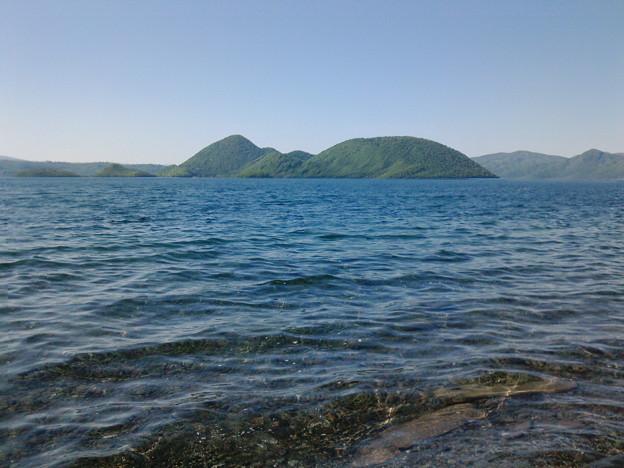 20200531洞爺湖があまりにもキレイだったので