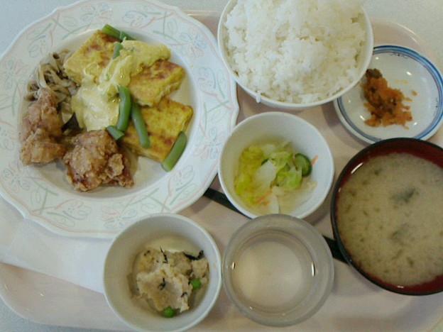 札幌開発建設部 社員食堂「B定食(豆腐のカレーマヨ焼き)」520円