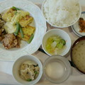 Photos: 札幌開発建設部 社員食堂「B定食(豆腐のカレーマヨ焼き)」520円