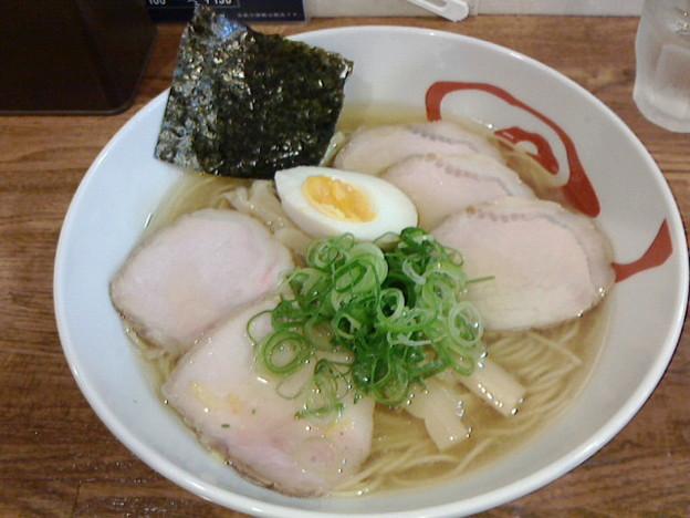 麺屋169「中華そば塩チャーシュー」1000円