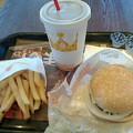 バーガーキング「クアトロチーズワッパーJr.Mセット」760円→600円