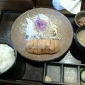 牛かつ いち華「牛かつ定食」1350円