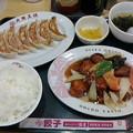 大阪王将「酢豚定食」1100円ご飯大盛無料