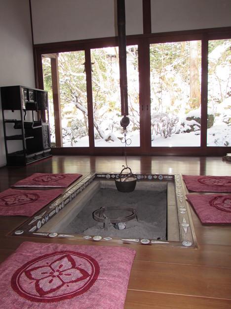 宝泉院・囲炉裏の部屋1