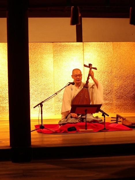 ●名月管弦祭・筑前琵琶2