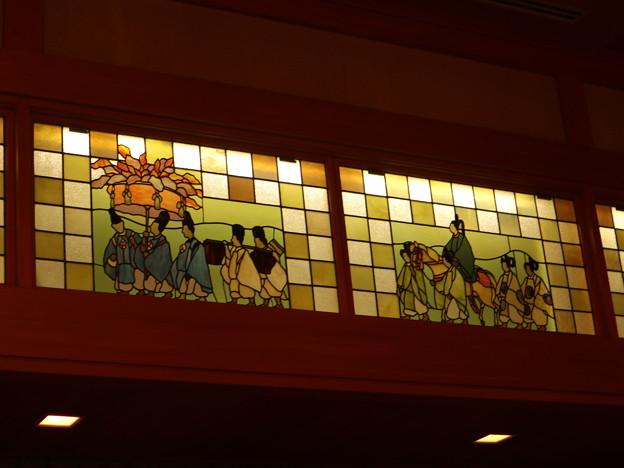 ウェスティン都ホテル・葵殿(ステンドグラス・葵祭)2