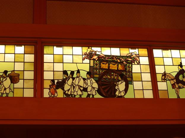 ウェスティン都ホテル・葵殿(ステンドグラス・葵祭)1