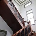 旧米沢高等工業学校・中央階段