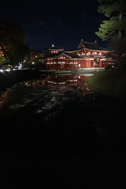 平等院・鳳凰堂(左側)1