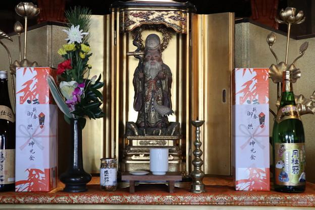 泉山七福神めぐり 1番即成院(福禄寿)