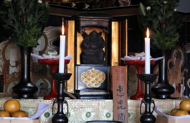 泉山七福神めぐり 3番観音寺(恵比須神)