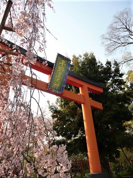 西大路七福社めぐり・平野神社