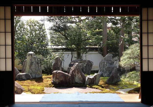 重森三玲庭園美術館・書院庭園(額縁)