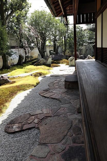 重森三玲庭園美術館・書院庭園(東側)1