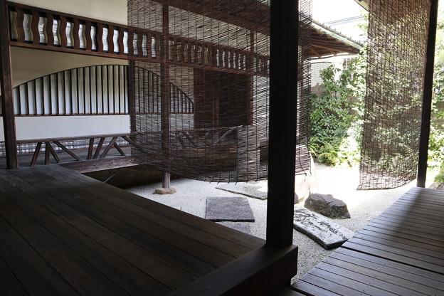 重森三玲庭園美術館「好刻庵」水屋前の坪庭