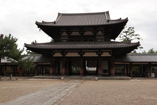 法隆寺・中門5