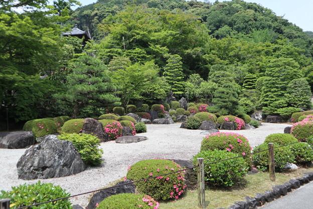 三室戸寺・枯山水庭園1