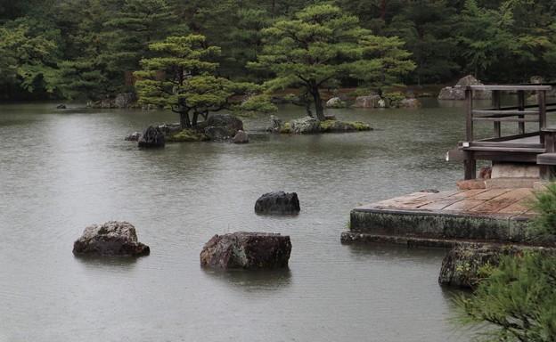 金閣寺・鏡湖池4