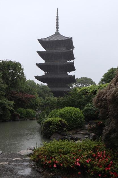 東寺・五重塔2