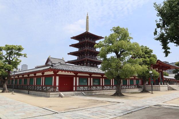 Photos: 四天王寺・中心伽藍4
