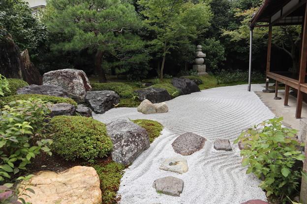 霊源院・庭園「鶴鳴九皐」2