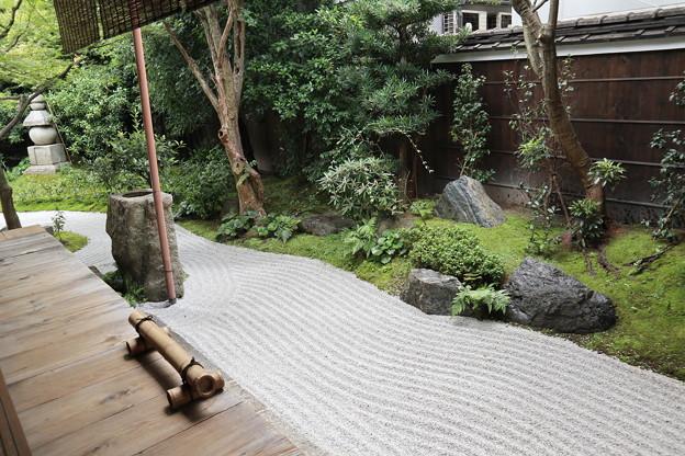 霊源院・庭園「鶴鳴九皐」(南庭・亀島)1