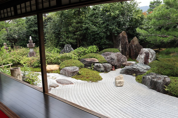 霊源院・庭園「鶴鳴九皐」4