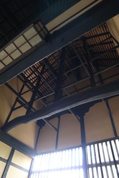 黄梅院・庫裏(天井)