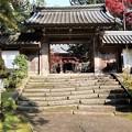 Photos: 西明寺・表門1