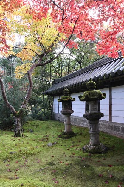 西明寺・石灯篭3