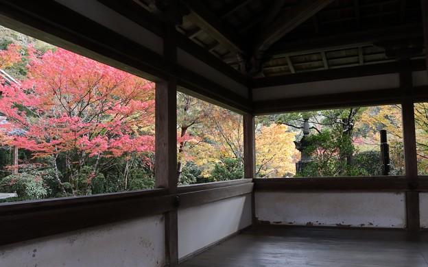 西明寺・渡り廊下1