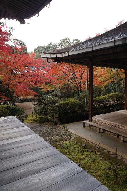 Photos: 西明寺・本堂から客殿1